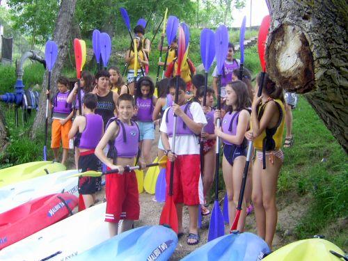 Sobrón - canoas