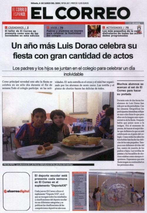 """La Semana Cultural en """"El Correo"""""""