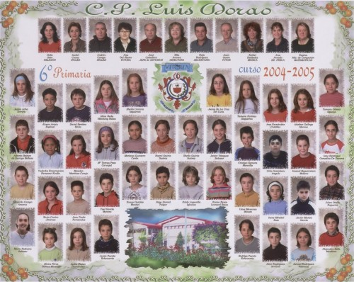 Alumnos de 6º - 2004 / 05