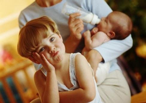 Cómo tratar los celos infantiles